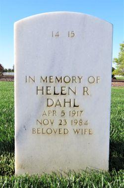 Mrs Helen Rachelle <I>Parrish</I> Dahl
