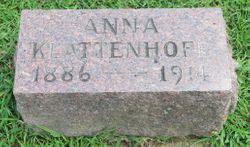 Anna <I>Ahrens</I> Klattenhoff