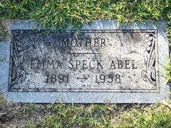 Emma <I>Speck</I> Abel