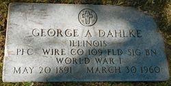 George A. Dahlke