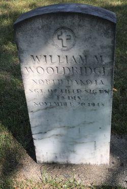 Sgt William Morton Wooldridge Sr.