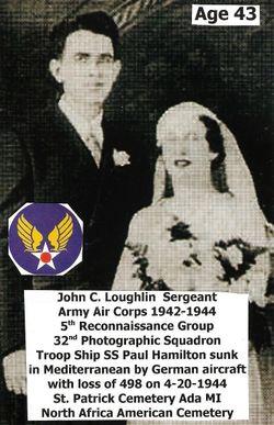 Sgt John C Loughlin