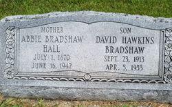 Abbie Plank <I>Bradshaw</I> Hall