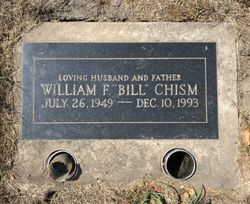 "William Frank ""Bill"" Chism"