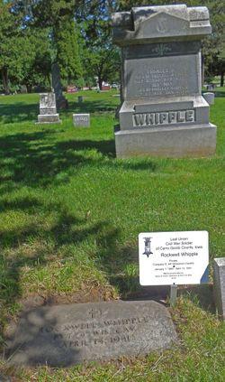 Pvt Rockwell Whipple