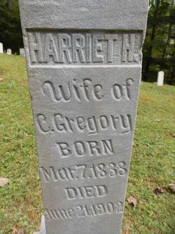 Harriet Henrietta <I>Payne</I> Gregory
