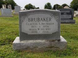Maria <I>Whitmyer</I> Brubaker