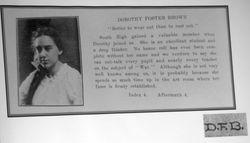 Dorothy <I>Brown</I> Foster