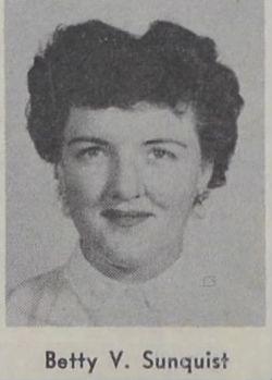Betty Victoria <I>Miller</I> Sunquist