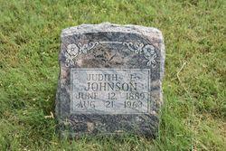 Judith Louise <I>Isaacson</I> Johnson