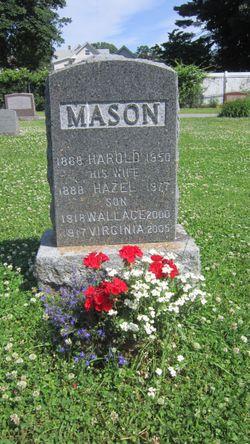 Hazel Mae <I>Davis</I> Mason