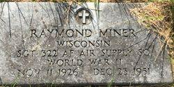 SGT Raymond Miner