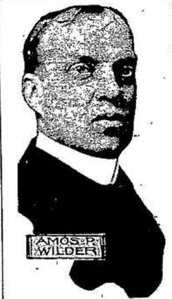 Dr Amos Parker Wilder