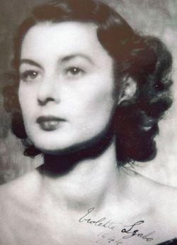 Violette Reine Elizabeth <I>Bushell</I> Szabo