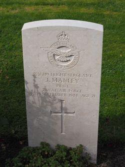 Flight Sergeant (Pilot) John Manley