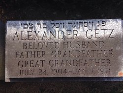 """Alexander Cecil """"Al"""" Getz"""