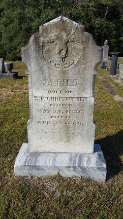 "Mary Frances ""Aggie"" <I>Elder</I> Christopher"