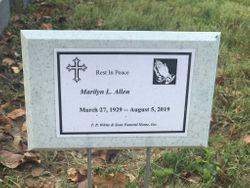 Marilyn Lee <I>Hoffman</I> Allen
