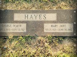 Mary Jane Hayes