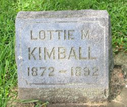 "Charlotte Mather ""Lottie"" Kimball"