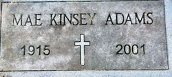 Mae <I>Kinsey</I> Adams
