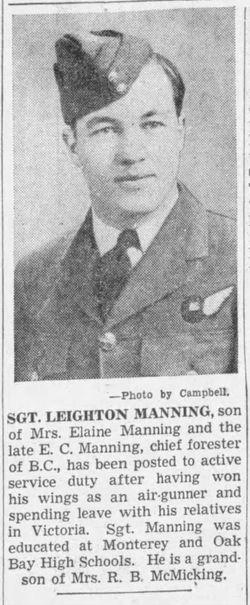 TSGT Leighton M. Manning