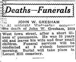 John Wesley Gresham