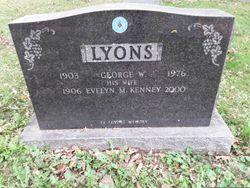 Evelyn M <I>Kenney</I> Lyons