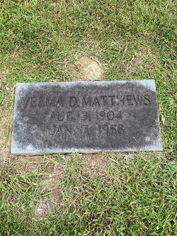 Velma Dare Matthews