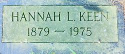 Hannah L. <I>Gerhart</I> Keen