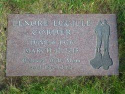 Lenore Lucille <I>Giorgio</I> Corder