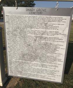 Shady Grove Cemetery #3
