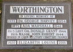 Ada Matilda <I>Marshall</I> Worthington