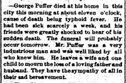 George Walter Puffer Sr.