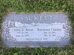 """Raymond Chesley """"Ray"""" Sackett"""