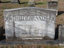 "Judea Usula ""Judy"" Hildebrand"
