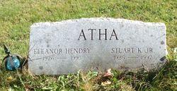 Eleanor <I>Hendry</I> Atha