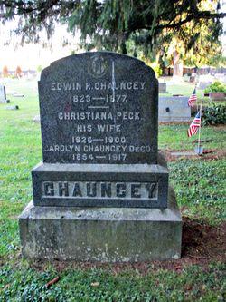 Christiana <I>Peck</I> Chauncey