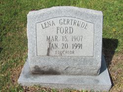 Lena Gertrude Ford