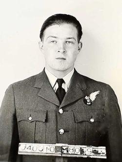 Flying Officer Wilfred Earl Weber
