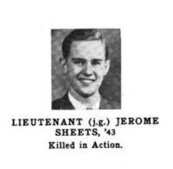 LtJg Jerome Butler Sheets