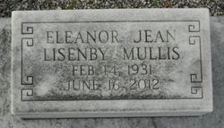 Eleanor Jean <I>Lisenby</I> Mullis