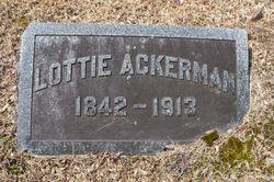 """Charlotte """"Lottie"""" Ackerman"""