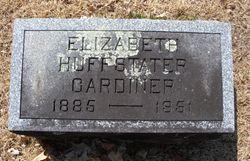 Elizabeth Huffstater <I>Bates</I> Gardiner