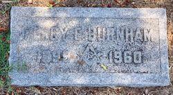 Percy Edmund Burnham