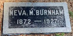 Neva May <I>Ashley</I> Burnham
