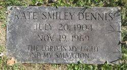 """Kate """"Katie"""" <I>Smiley</I> Dennis"""