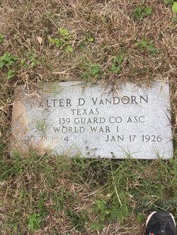 Walter Douglas Van Dorn Sr.