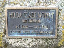 Hilda Clare <I>Lineham</I> Moffat