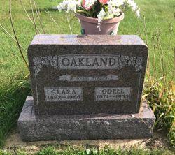 Clara <I>Olson</I> Oakland